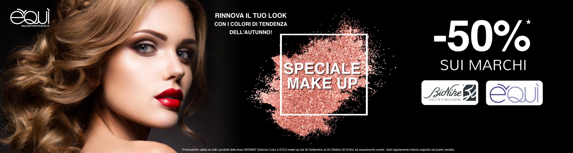 Promozione make-up -50%